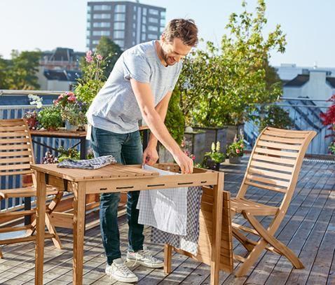 Tisch mit Wäscheständer online bestellen bei Tchibo 323573
