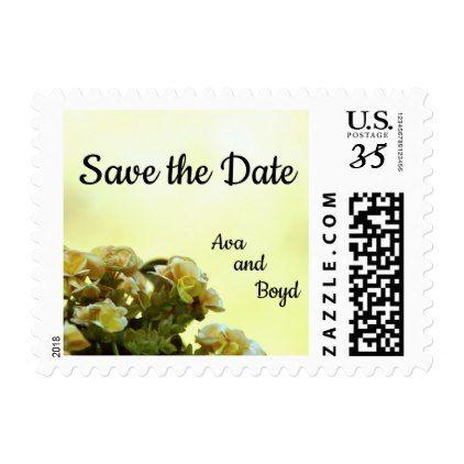 'Begonia Wedding' Postcard postage 415 - bridal shower gifts ideas wedding bride