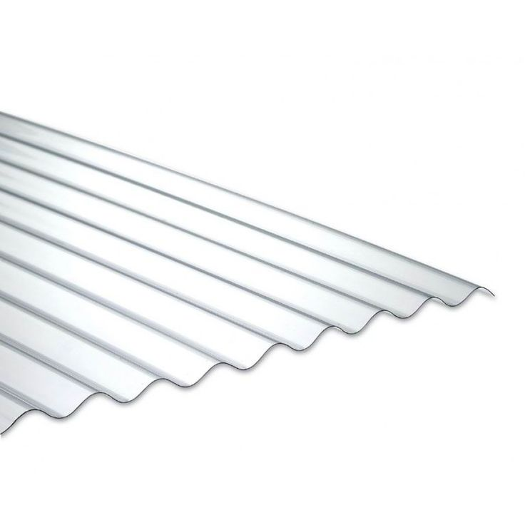 PLAQUE D'ECLAIREMENT ONDULEE OU NERVUREE PVC - PO 200 CM - AMENAGEMENT EXTERIEUR - ONDULINE