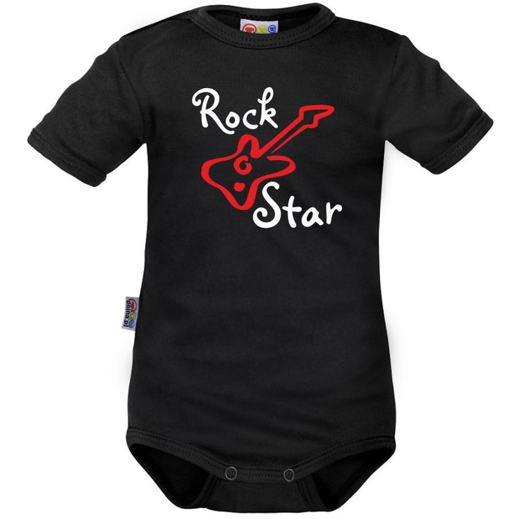 Body bébé rock : Rock Star - Rock and roll - Family In Black