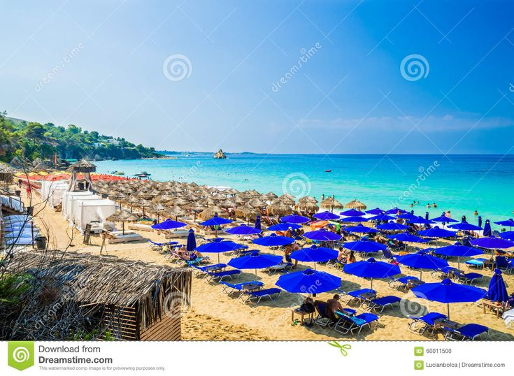 Argostoli....Platis Gialos And Makris Gialos Beach, Kefalonia Island, Greece ...
