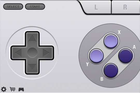 SNES Skin for Joypad iPhone App