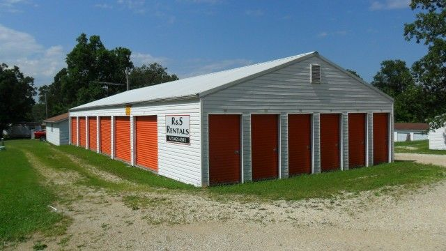 These storage units will make a great investment property with monthly income! Six storage units with additional 24x35 garage. Bld. 2- 70x30, bld. 3- 40x70, bld. 4- 50x10, bld. 5- 50x20, bld. 6- 50x20, bld. 7- 50x30. 10 units 5x10, 29 units 10x10, 2 units 10x15, 17 units 10x20, 7 units 10x30, 1 unit 24x35 in Cuba MO