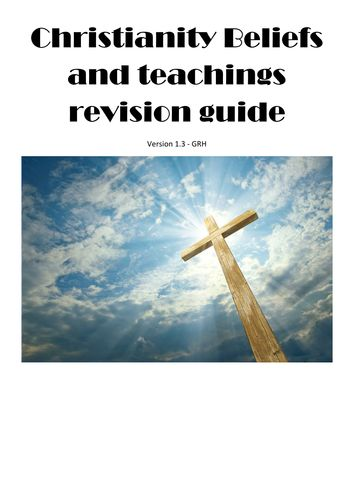 AQA Christianity Beliefs and Teachings revision guide: new spec