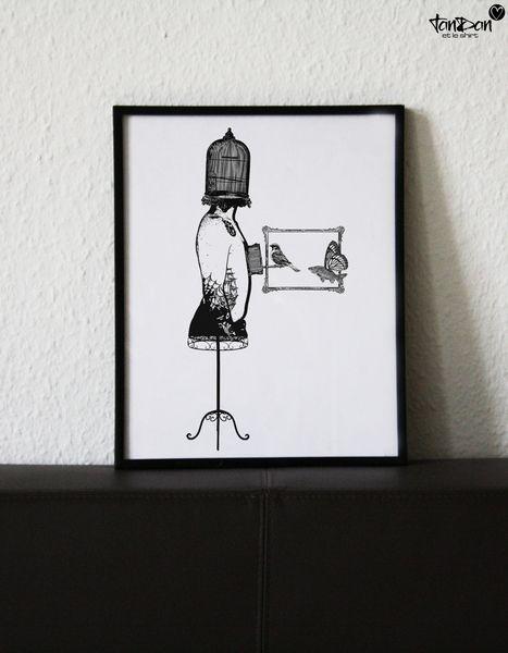Siebdruck - Nikolas Cage Poster A4 - ein Designerstück von tandanetleshirt bei DaWanda #screenprint  #handprinted  #wall  #inspiration  #interior  #illustration  #siebdruck  #dekoration #paper #art
