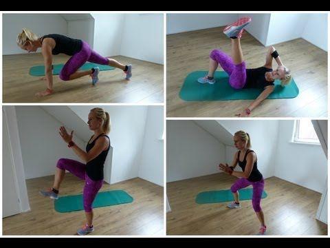 Workout buik, billen benen en vetverbranding