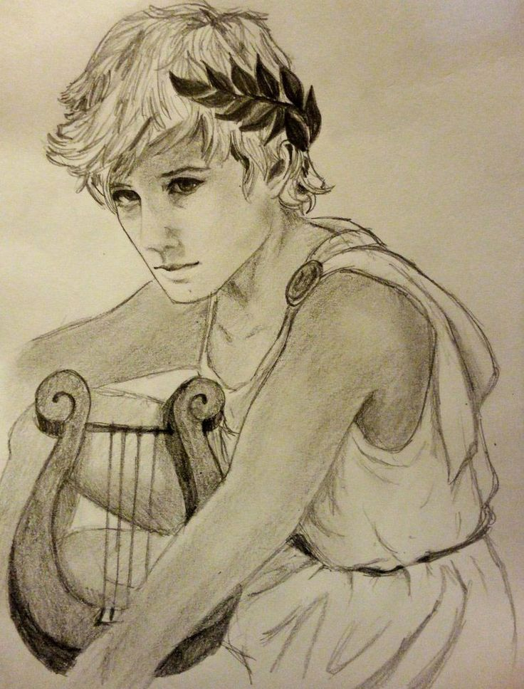 Apollo Greek God - Art Picture by daughtergothel