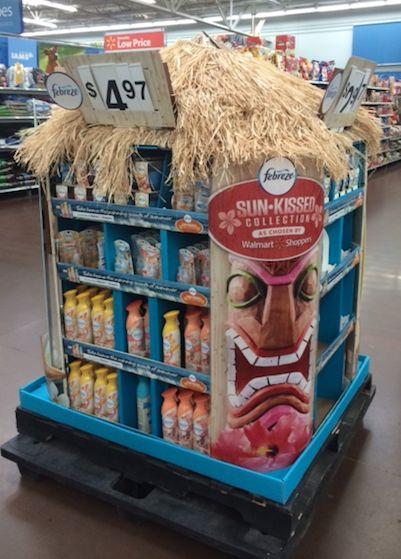 Febreze Tiki Hut @ Walmart, Lakewood, CO- 6/26/14