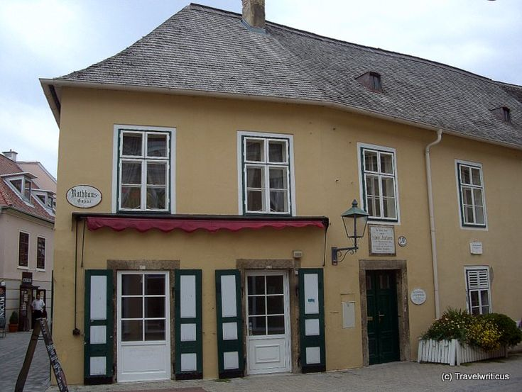 Beethoven's house where he wrote his 9th, Vienna, Austria