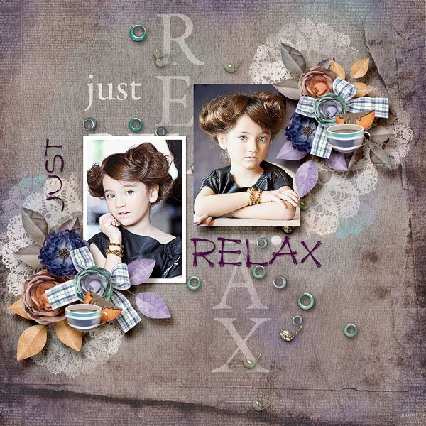 """Just Relax"" by Sarahh Graphics http://www.pickleberrypop.com/shop/product. php?productid=46329 template ""Cheer2"" by Dagi Temp-tations http://store.gingerscraps.net/Cheer-2.html photo Irina Grishina use with permission"