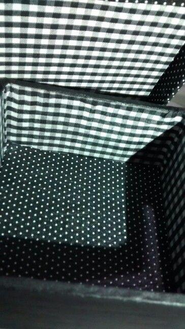 Parte interna da caixa