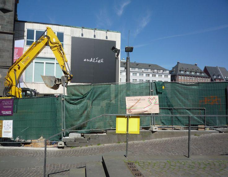 Frankfurt, Baustelle vor Schirn
