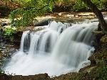 Claypool Falls in West Virginia