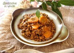 Le lenticchie in umido sono un ottimo contorno, solitamente si accompagnano bene con le salsicce, ottenendo così un sostanzioso e buonissimo secondo .......