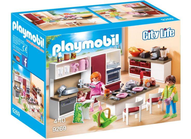 PLAYMOBIL 9269 Kök | Playmobil City Life | Playmobil | Varumärken |  Leksaker Från BR