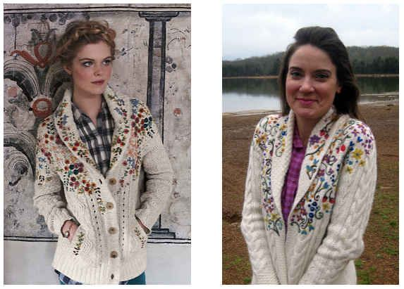 And while you're at it, make the matching Anthropologie cardigan.