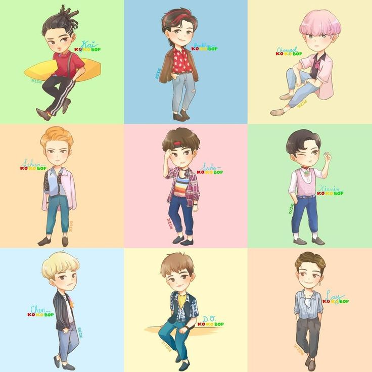 Hey guys! So! EXO recently made their comeback and I decided that for every teaser they released, I'll make a fanart so this happened~ Btw, the comeback was a total bop!! I'm so snatched everyone d...