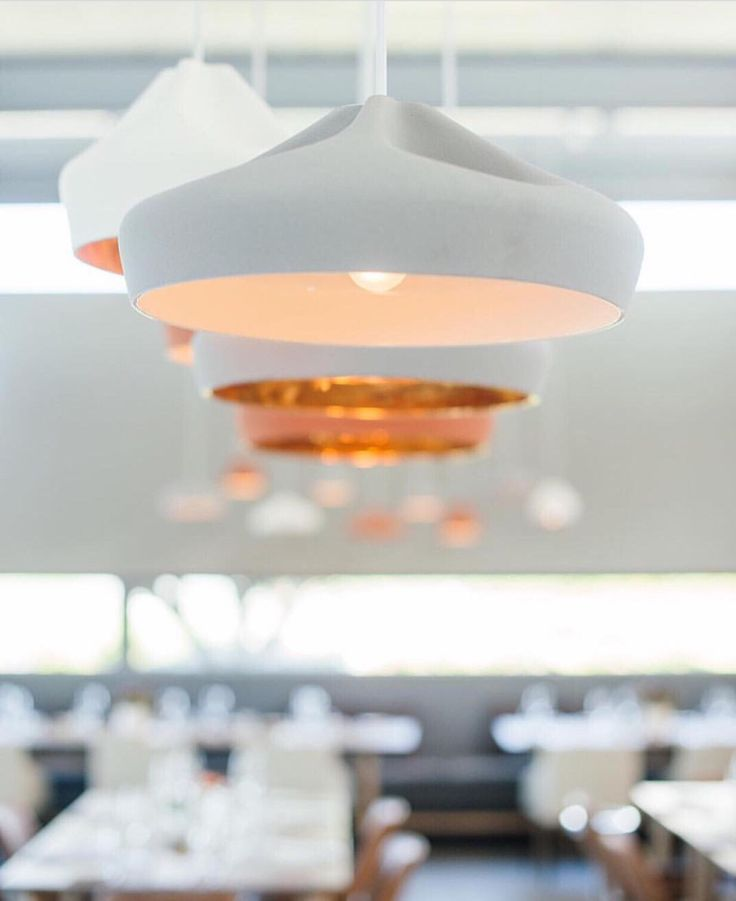 Designers we love! The 'Pleat Box' Marset pendants, featured in our restaurant, are a firm favourite with all who visit the Cavalli Estate  #CavalliEstate