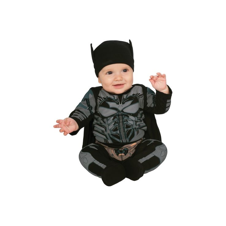 Halloween Boys' Batman Toddler Costume 6-12 Months, Size: 6-12 M, Multicolored