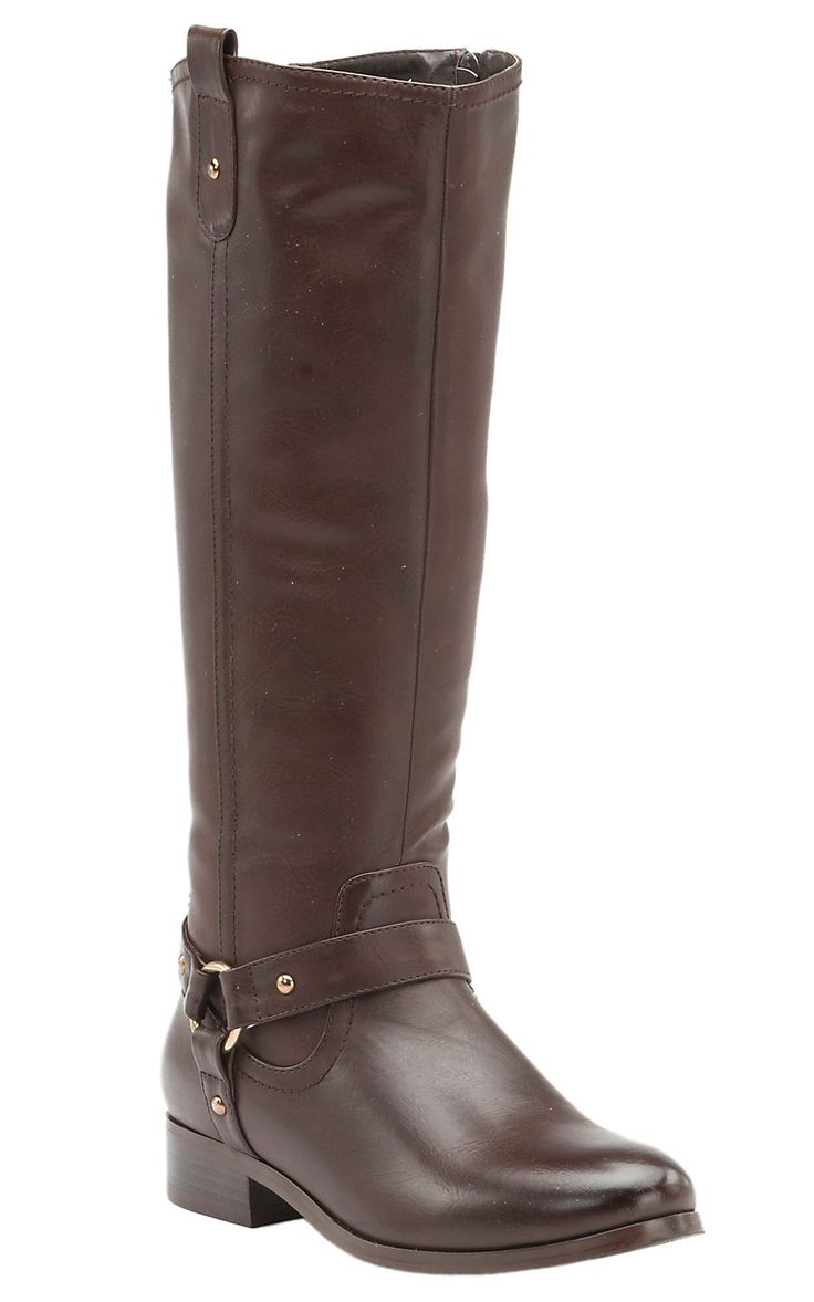 Corky's Women's Cherokee Brown w/Gore Harness Tall Riding Boots | Cavender's