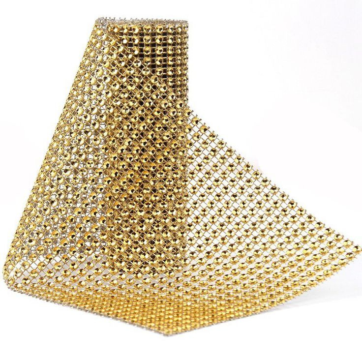 91.5 cm 1 partij Strass Ketting Diamant Mesh Trim Bruiloft Decoraties Bling Wrap Party Crystal Lint DIY Ambachten Evenementen Levert in         Tulle…