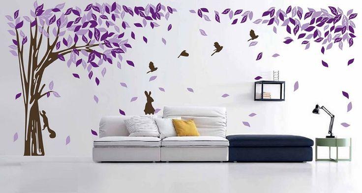 Ideas creativas para decorar una pared en blanco