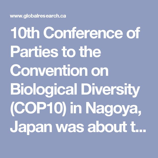 10th Conference of Parties to the Convention on Biological Diversity (COP10) in Nagoya, Japan was about to appear—a moratorium the U.S. was not planning to ratify. [7] Were the delegates from 193 nations aware that geoengineering had been going on in the U.S. and other NATO nations for well over a decade? Four months after the Nagoya moratorium, a geoengineered earthquake struck Japan.