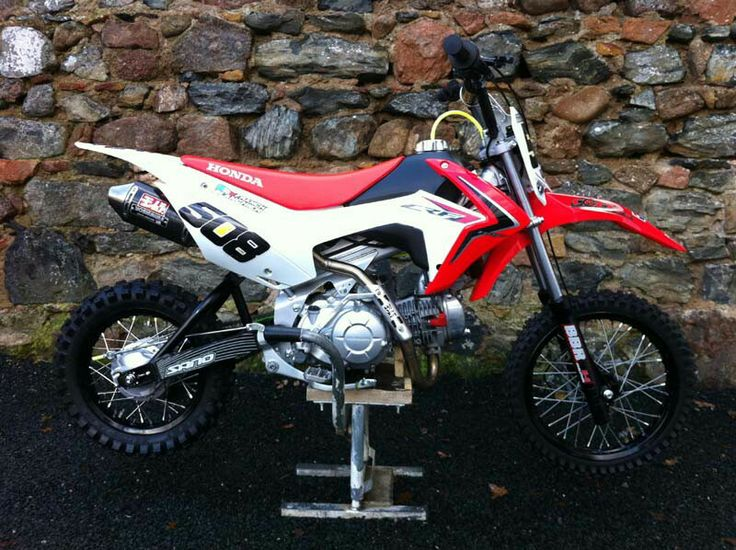 nicely modded honda crf 110 pitbike pit bikes pit bike honda 50cc pit bike honda crf