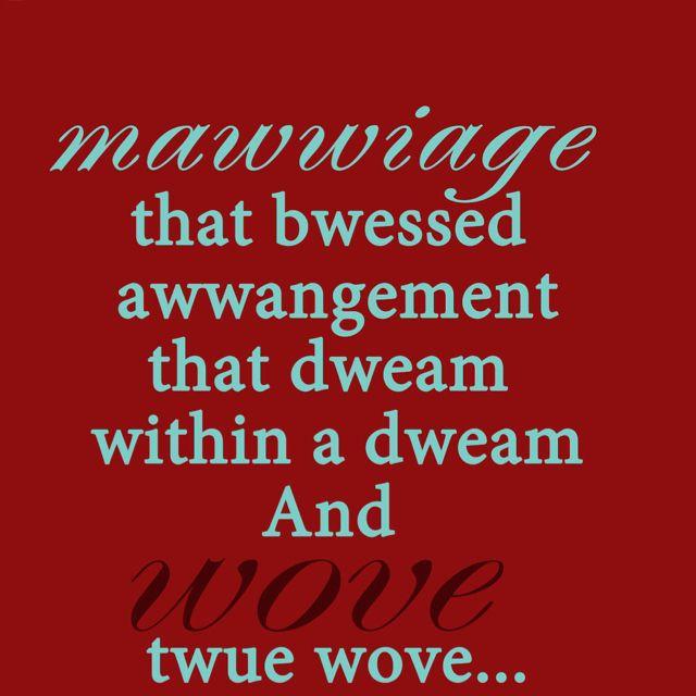 Princess Bride Wedding Quote: Princess Bride Quote :D