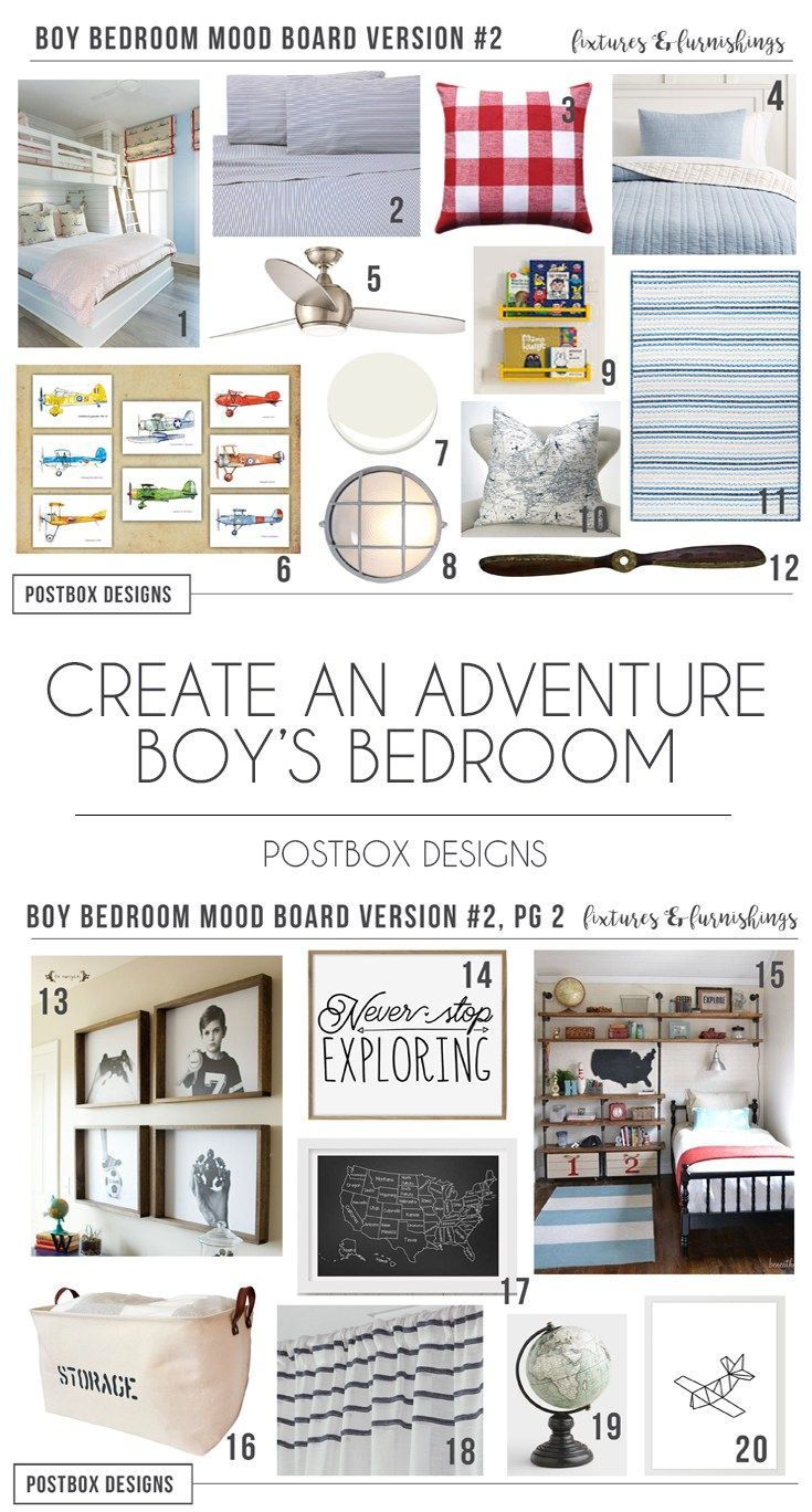 Postbox Designs How To Create An Adventure Themed Boy S Bedroom Design Decor Via Online Interior
