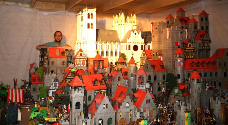 See-I don't have too many!  Collector of the Month | August 2013 - PLAYMOBIL Collectors Club