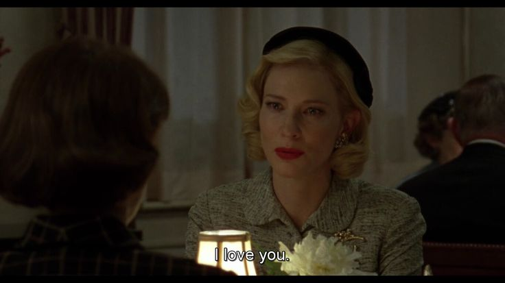 I love you,i waited so long for this part #carol #therese #therol #bestmovieever #everything #thismovie #lesloveforever #lgbt #lesbian #lovequote #carolquote