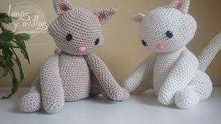 Amigurumi cat - Free #crochet video tutorial & pattern - in Spanish with…