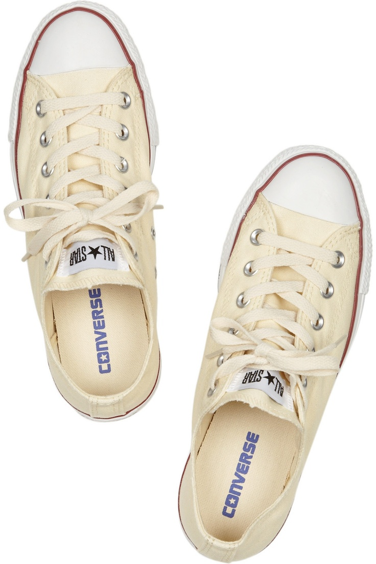 Converse | Canvas low-top sneakers | NET-A-PORTER.COM