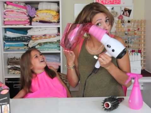 Say Whaa?? A review of the AIR CURLER! Soo funny and Cute. BTW the air curler does not work