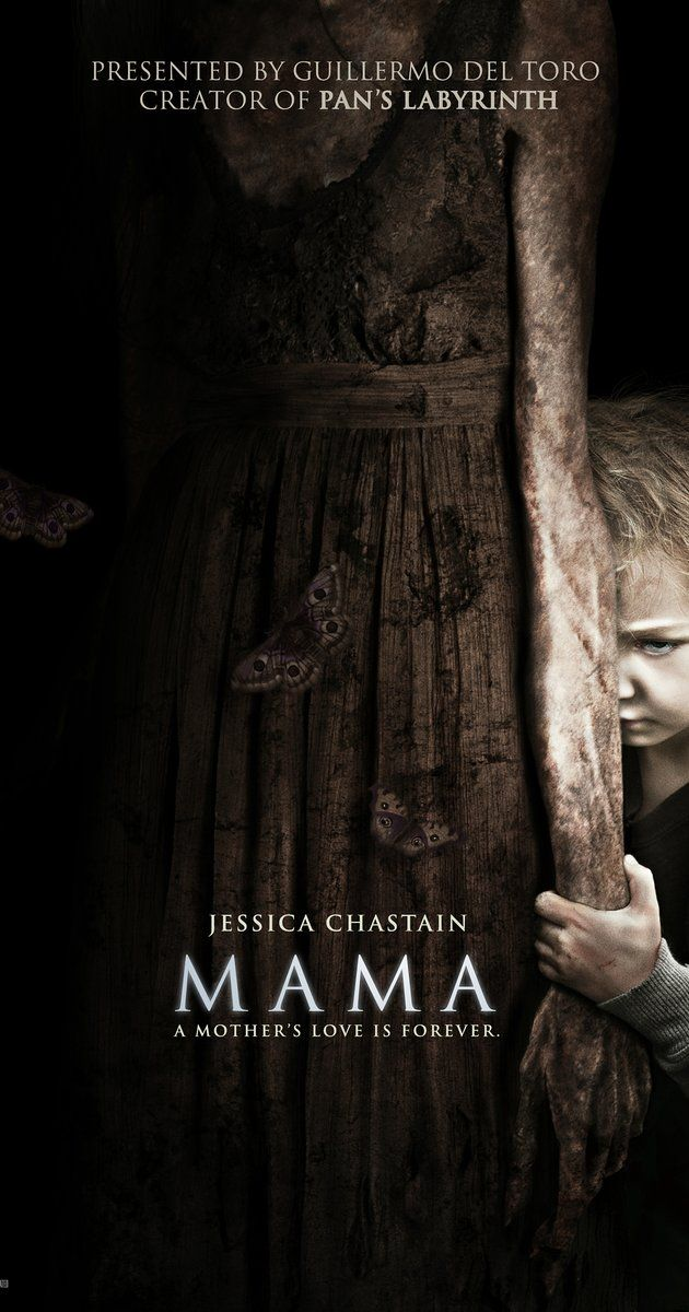 Directed by Andrés Muschietti.  With Jessica Chastain, Nikolaj Coster-Waldau, Megan Charpentier, Isabelle Nélisse. A young couple take in their two nieces only to suspect that a foreboding evil has latched itself to their family.