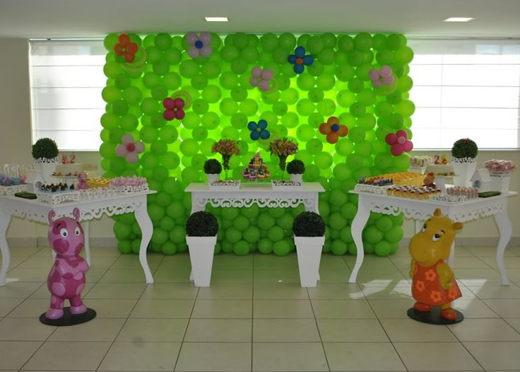 17 best images about the backyardigans party ideas on for Backyardigans party decoration