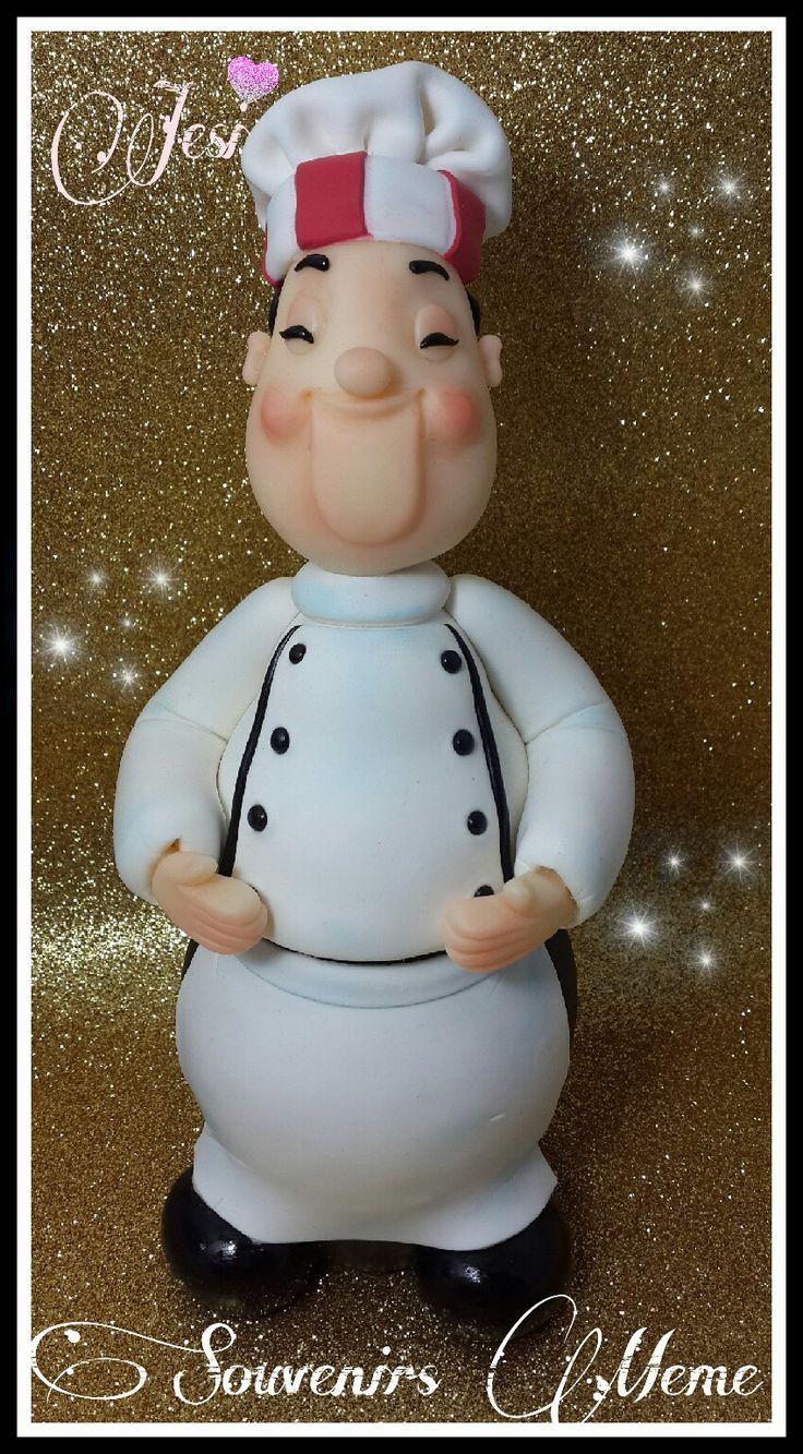 308 best Cozinheiros charmosos images on Pinterest | Cold porcelain ...