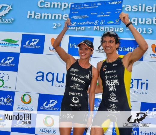 Diogo Sclebin e Jéssica Santos vencem 2ª Etapa do Campeonato Brasileiro Hammerhead de Aquathlon em Manaus  http://www.mundotri.com.br/2013/05/diogo-sclebin-e-jessica-santos-vencem-2a-etapa-do-campeonato-brasileiro-hammerhead-de-aquathlon-em-manaus/