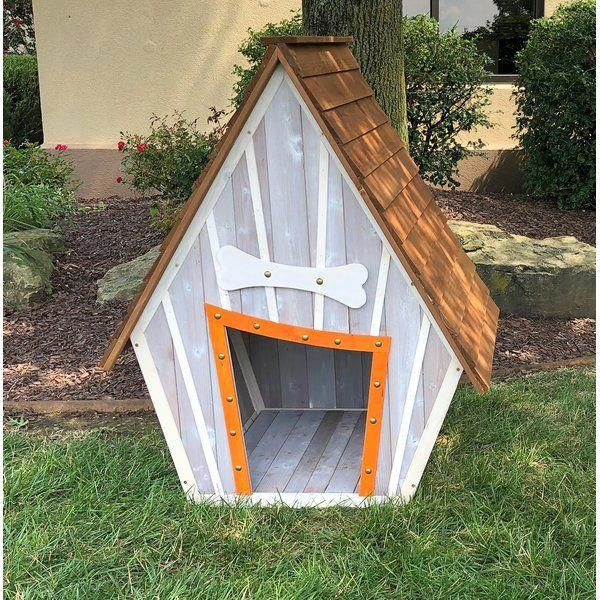 Bollman Crooked Wooden Dog House Wooden Dog House Cool Dog