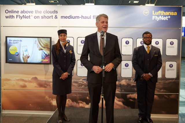 Lufthansa και Austrian Airlines με νέα υπηρεσία internet και στις ενδοευρωπαϊκές πτήσεις: Στείλτε emails, πραγματοποιήστε online αγορές και…