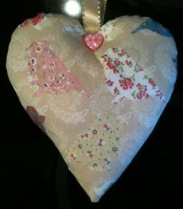 valentine's day bag decorations
