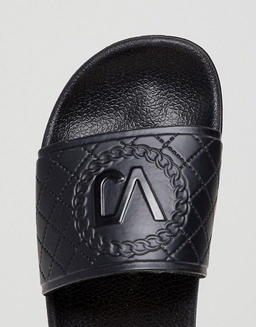 on wholesale online store entire collection Versace | Versace Jeans Quilted Logo Slider | Latest fashion ...