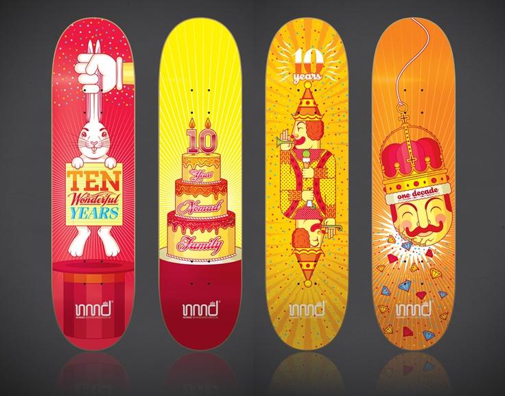 Victor Ortiz / Nomads Skateboards