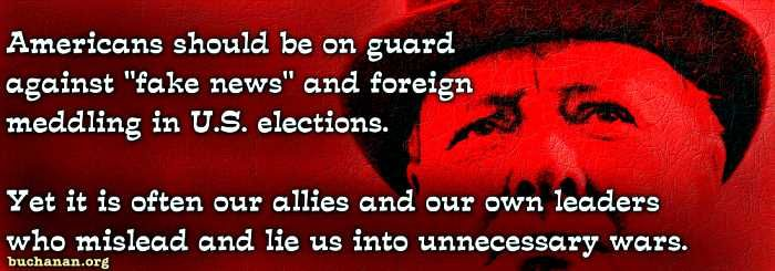 """By Patrick J. Buchanan  """"I have in my possession a secret map, made in Germany by Hitler's government — by the planners of the New World Order,"""" FDR told the nation in his Navy Day radio address of Oct. 27, 1941.  """"It is a map of South America as Hitler proposes to reorganize it. The geographical experts of Berlin, however, have ruthlessly obliterated all the existing boundary lines ... bringing the whole continent under their domination,"""" said Roosevelt. """"This map makes clear the Nazi…"""