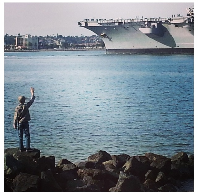 uss carol vinson deployment one of the saddest pictures