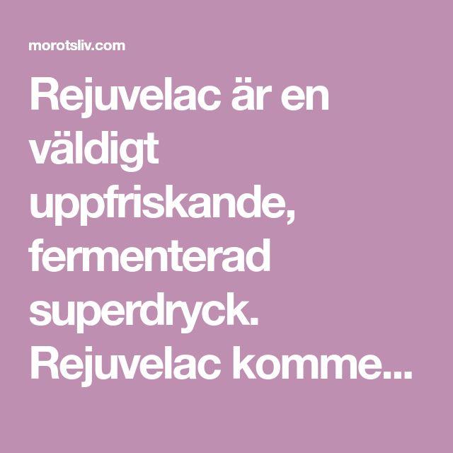 Rejuvelac är en väldigt uppfriskande, fermenterad superdryck. Rejuvelac kommer, precis som vetegrässhottarna, från Ann Wigmores teorier kring Levande Föda. Den är traditionellt gjord på hela ekolog…