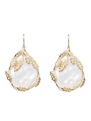 Night Out: Francoise mother-of-pearl earrings / Garance Doré