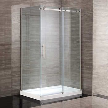 OVE Kelsey 48 in. Corner Shower Kit