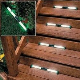 solar step lighting outdoor | see all 6 photos